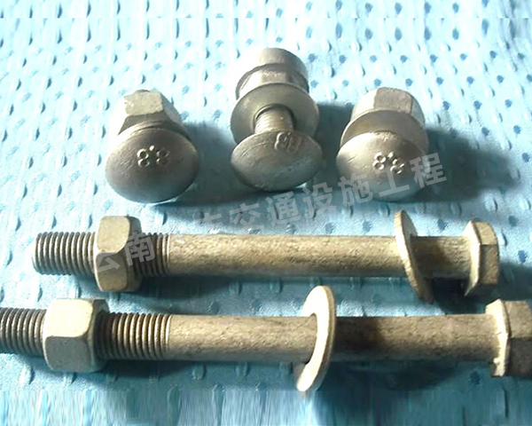热镀锌波形护栏普通螺栓