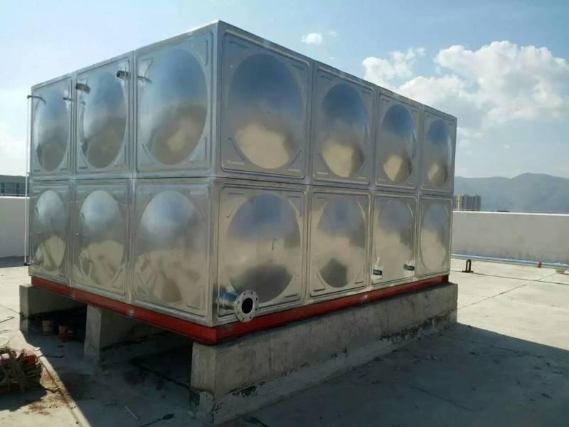 屋顶生活组合式水箱