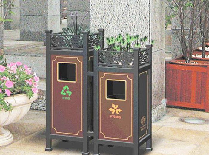 昆明小區垃圾桶標識