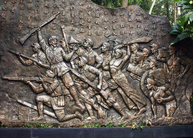 昆明景区历史文化浮雕