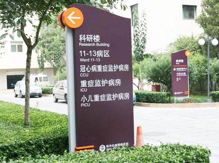 醫院索引標識標牌