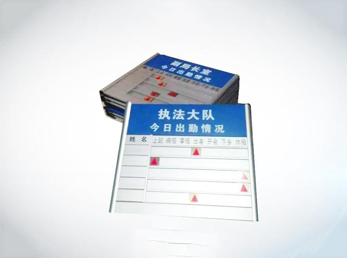 單位標識牌