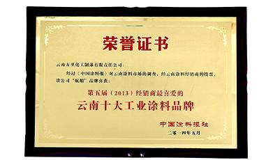 公司资质-荣誉证书