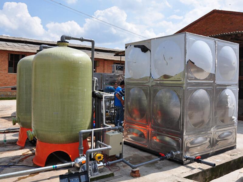 小哨蛋鸡养殖场5T每小时纯水设备