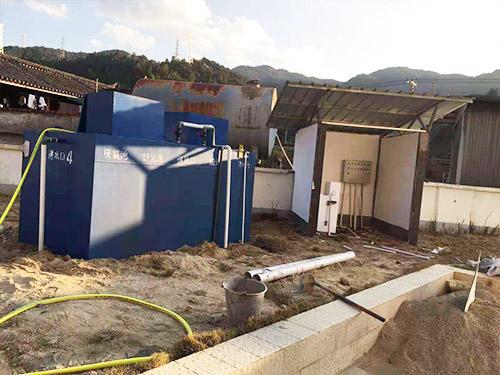 腾冲温泉加油站污水设备