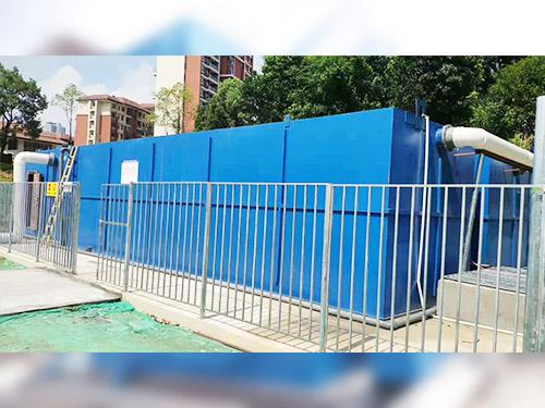永康中学污水设备