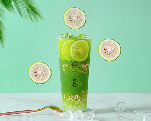 泰绿柠檬茶