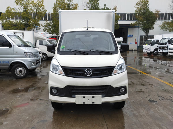 昆明国六福田祥菱V1冷藏车