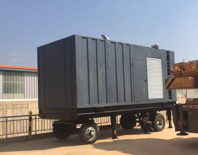 昆明萬洲房地產開發有限公司-萬科城市之發電機拖車采購