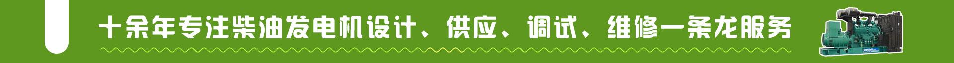 云南發電機組廠家