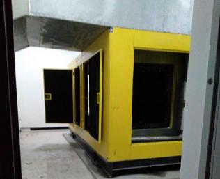 云南省電視臺發電機組售后維修案例