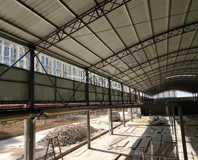 轻型钢结构厂房设计