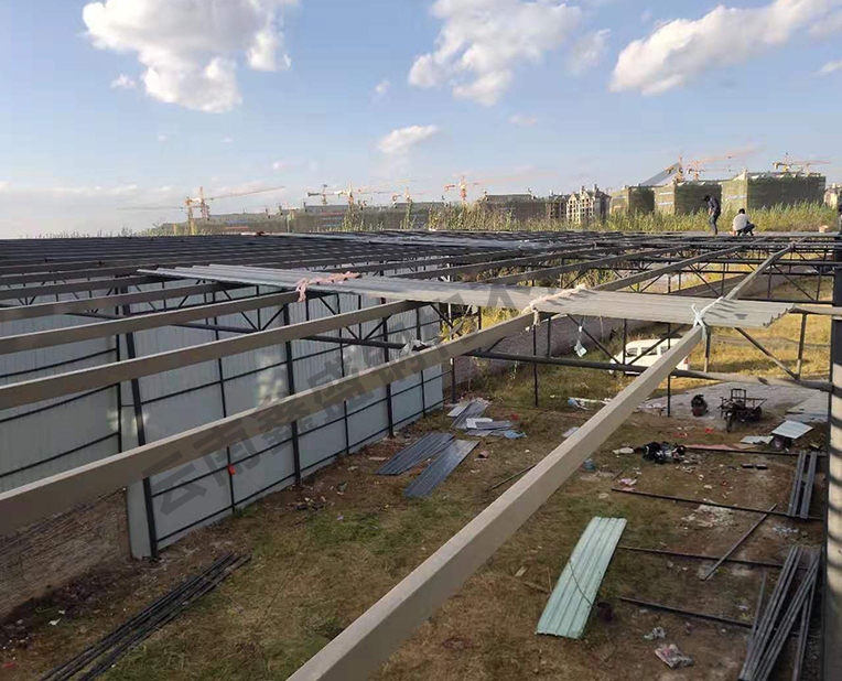 轻型钢结构厂房施工定制