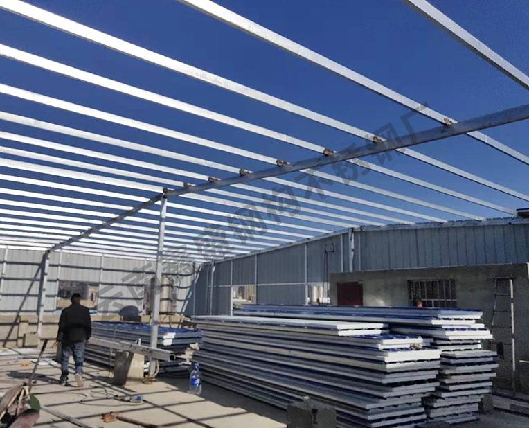 轻型钢结构厂房加工