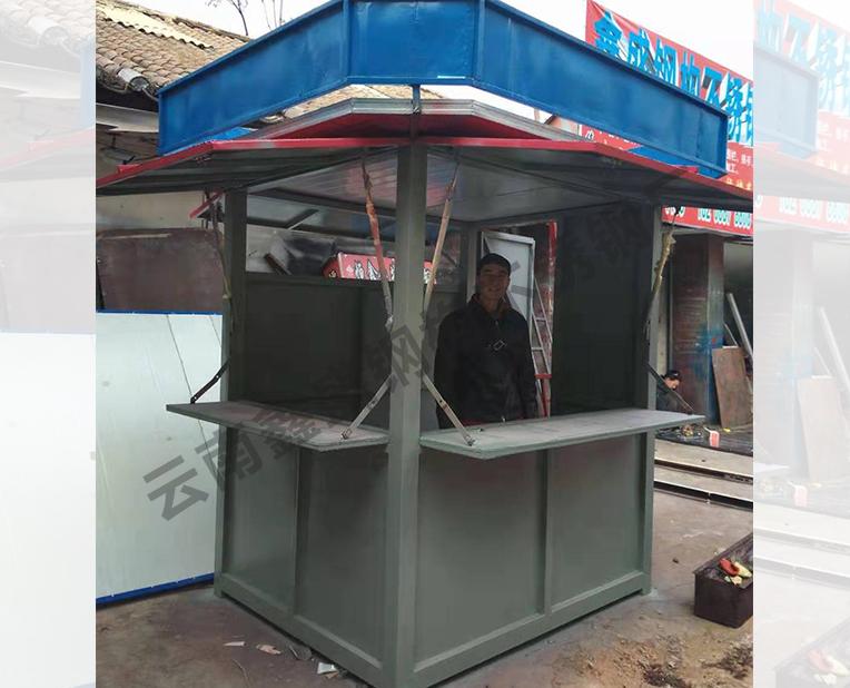不锈钢售货亭