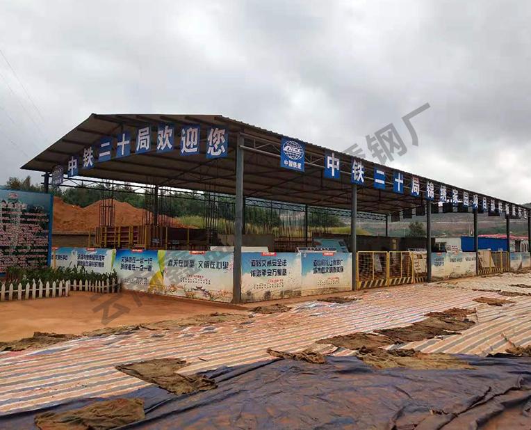 昆明郊区钢结构厂房定制