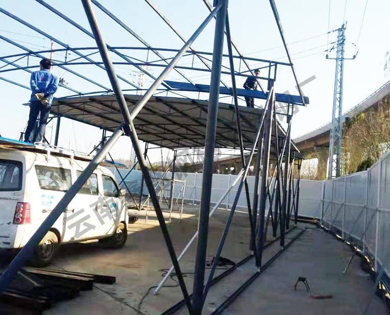 昆明钢结构工程施工方案