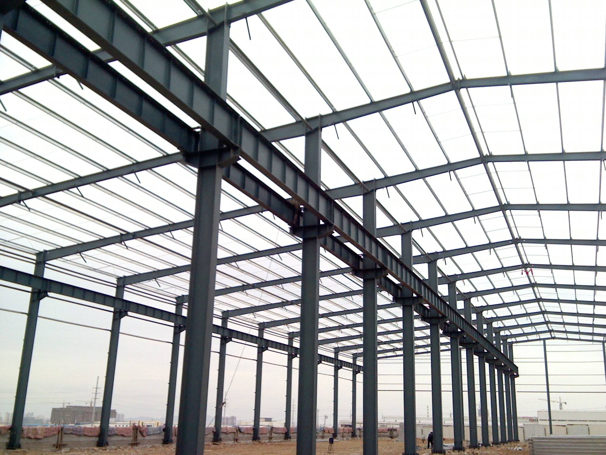 钢结构屋架安装