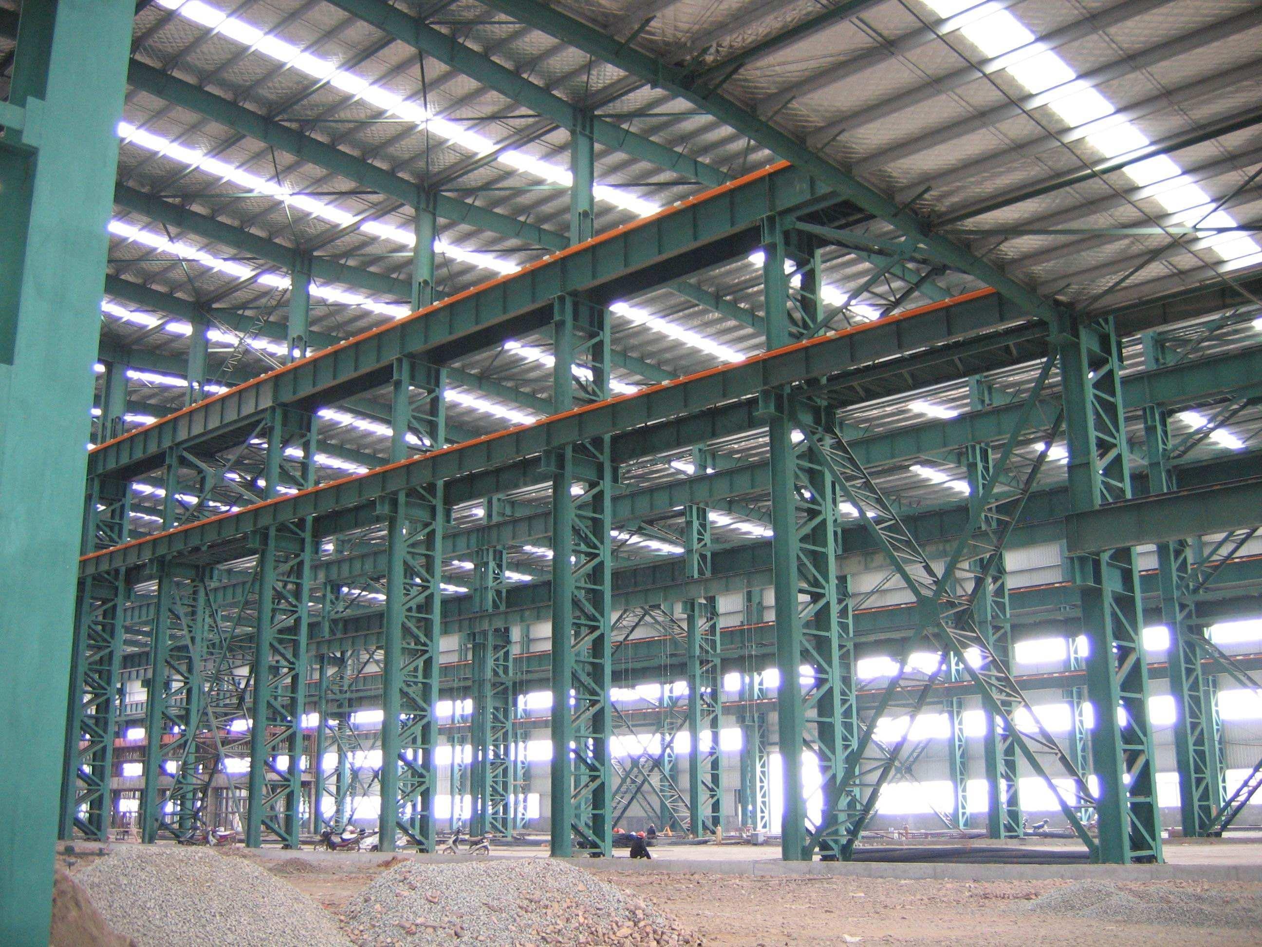 昆明钢结构:钢结构厂房造价大概是对少