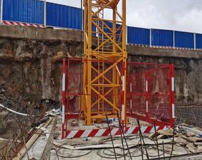 塔吊基础护栏