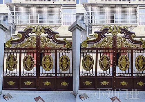 保山欧式建筑铁艺大门