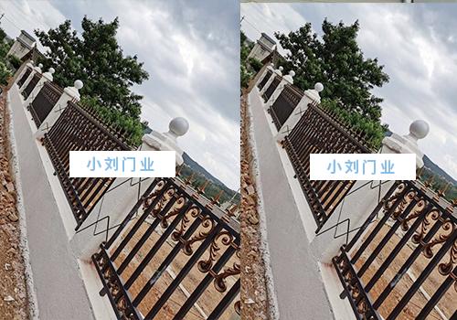 安宁工厂铁艺护栏