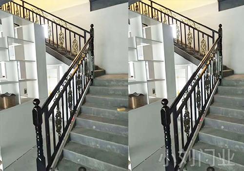 楼梯防护铁艺护栏