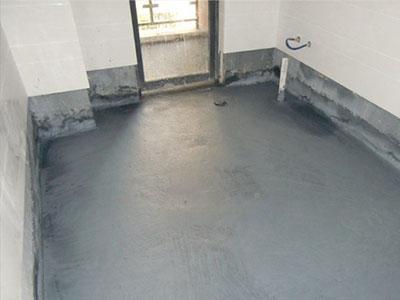 卫生间防水工程施工