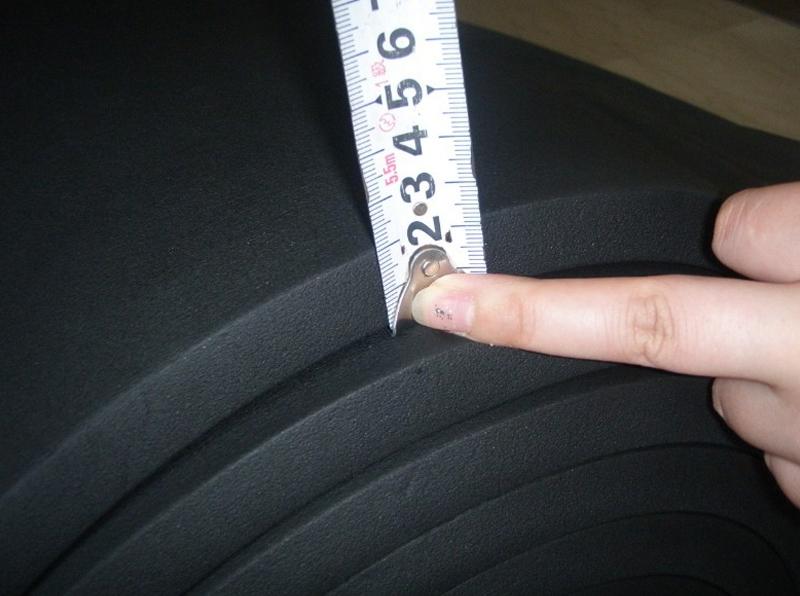 橡塑板厚度