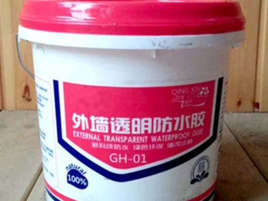 外墙专用透明防水胶