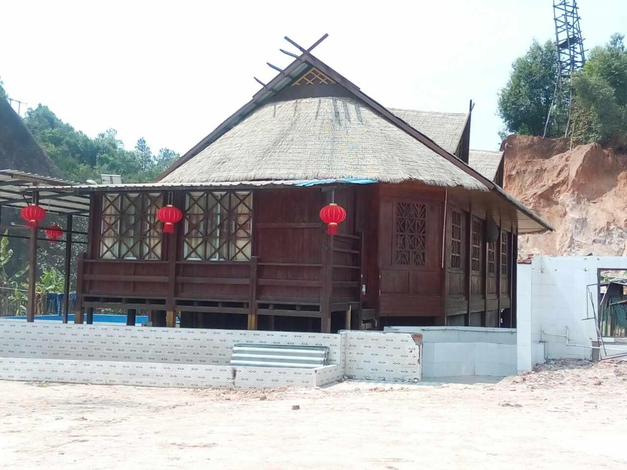 缅甸防腐木木屋建造