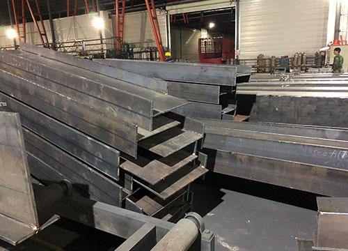 q235热轧h型钢结构加工