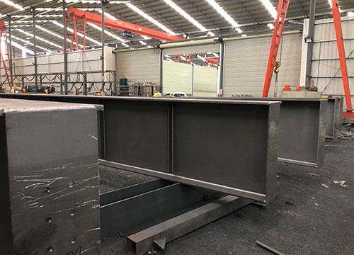 十二冶吊车梁h型钢由亿恒德承接加工定制