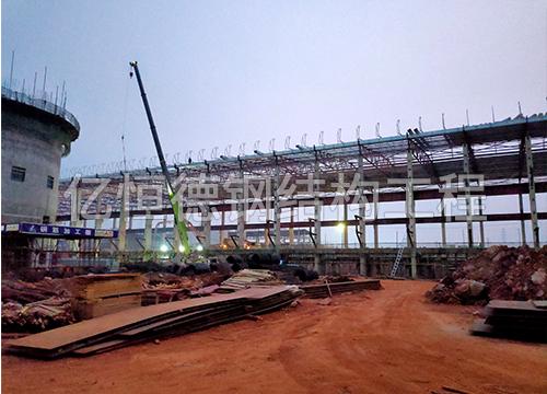 昭通铝厂钢结构厂区加工