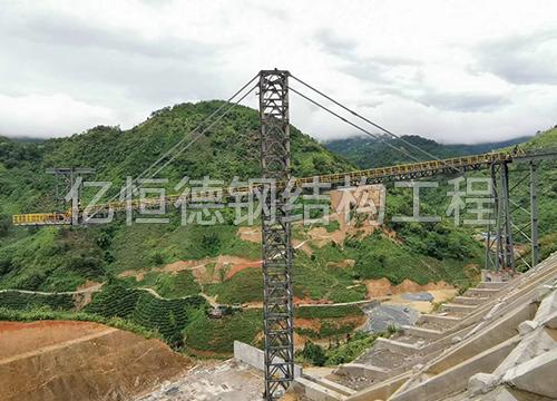钢结构加工-文山铝锌矿厂