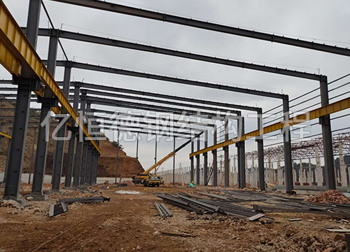 文山铝厂-钢结构厂房加工