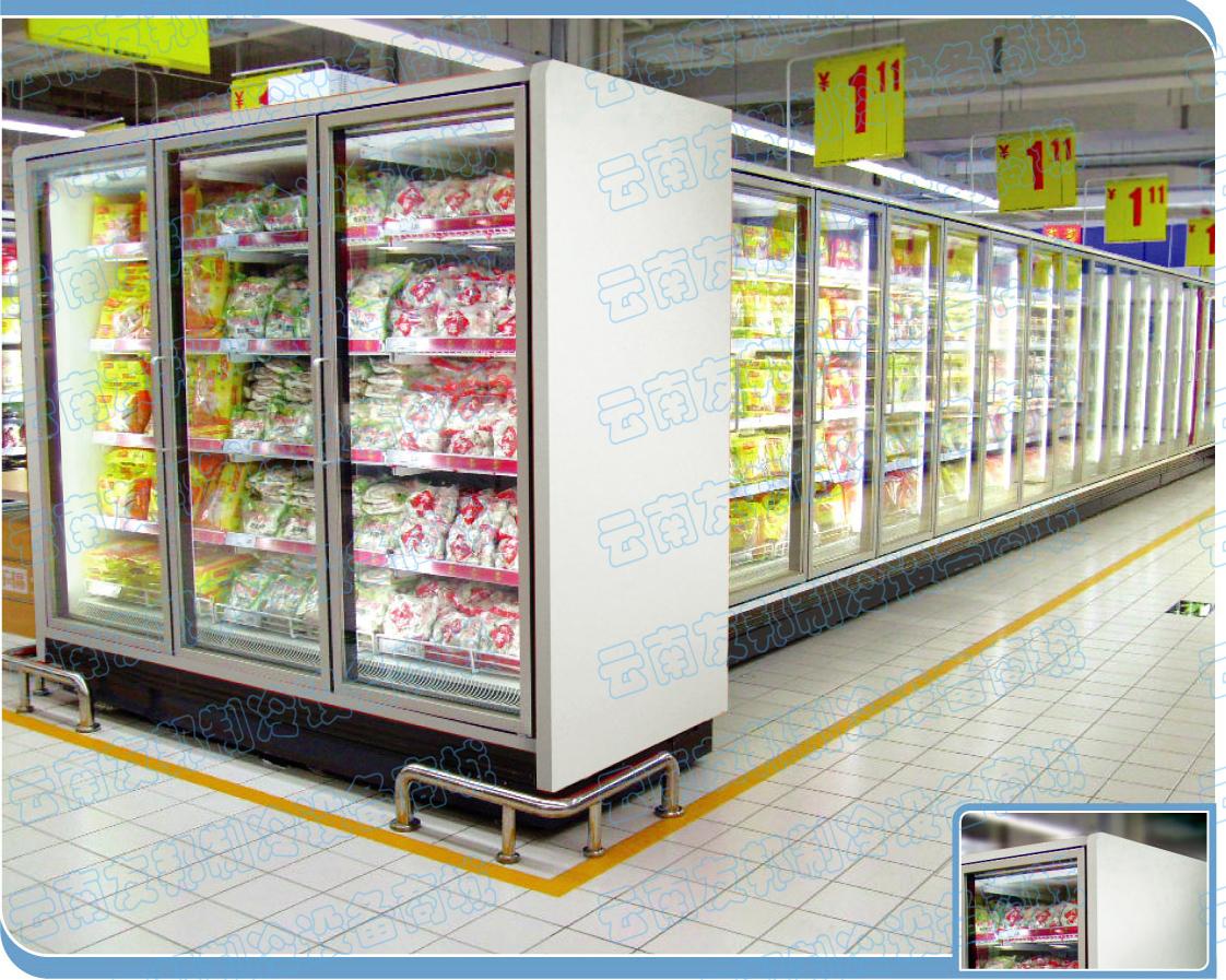 云南格晨開利超越冷凍冷柜廠家