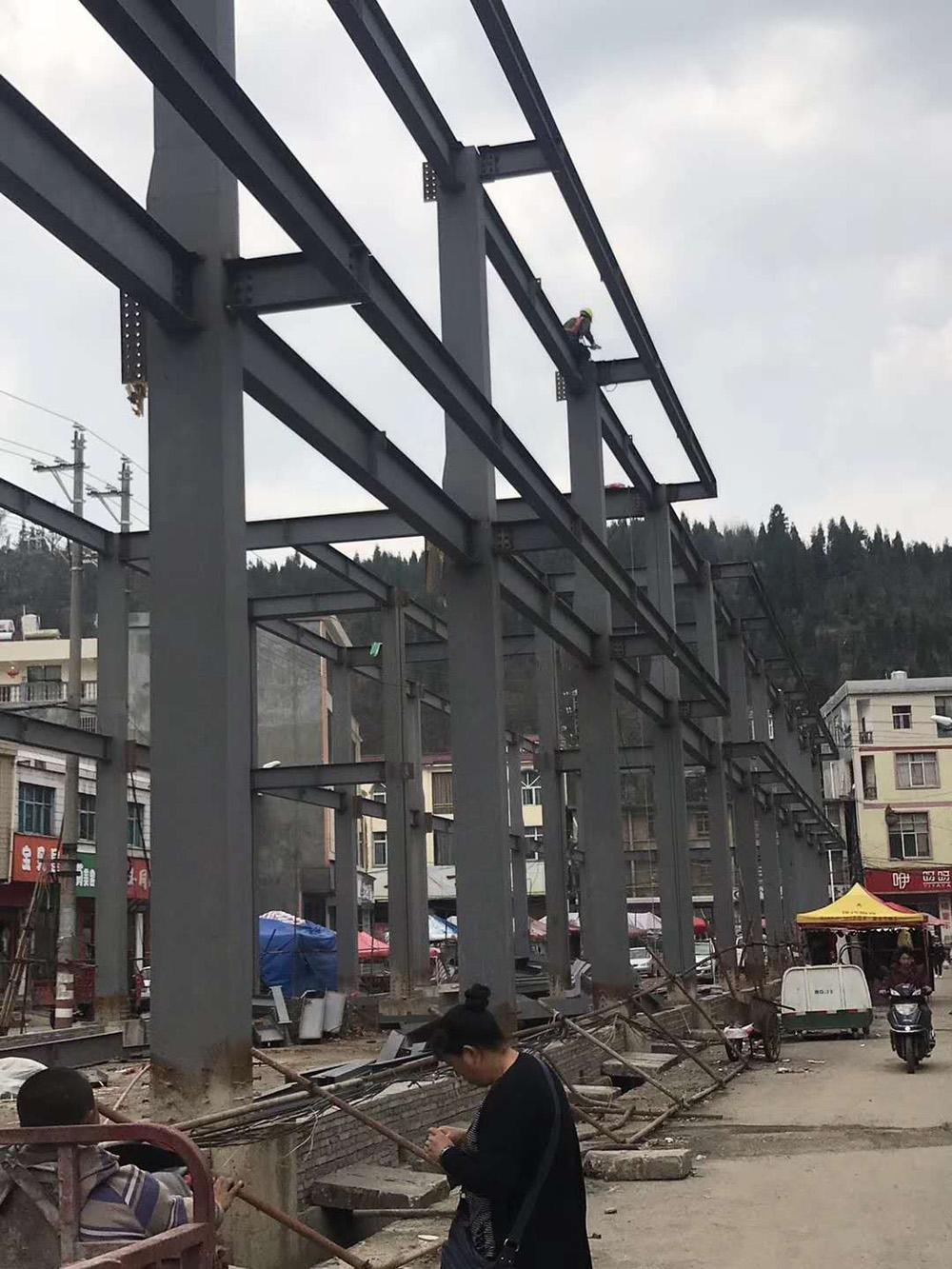 昆明钢结构加工安装