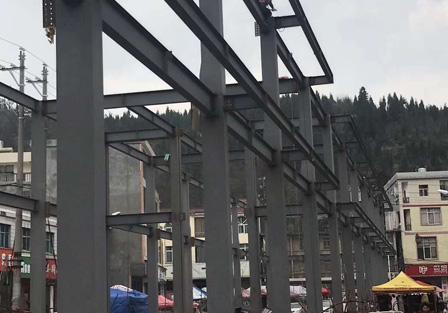 昆明钢结构加工安装案例