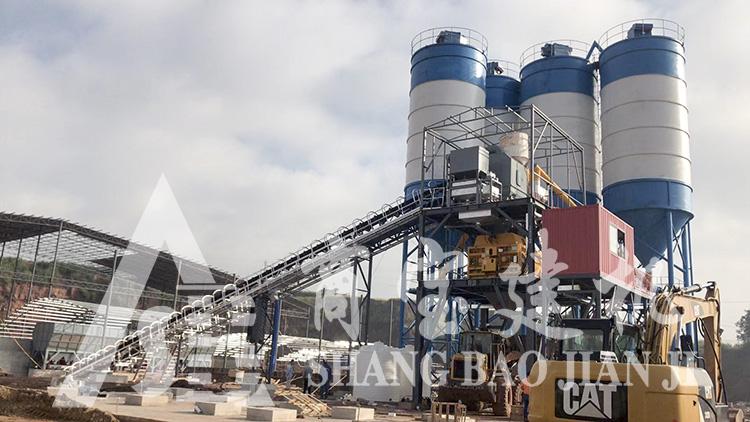 HZS180混凝土搅拌站生产厂家