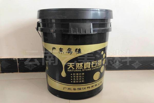 丽江天然真石漆50公斤