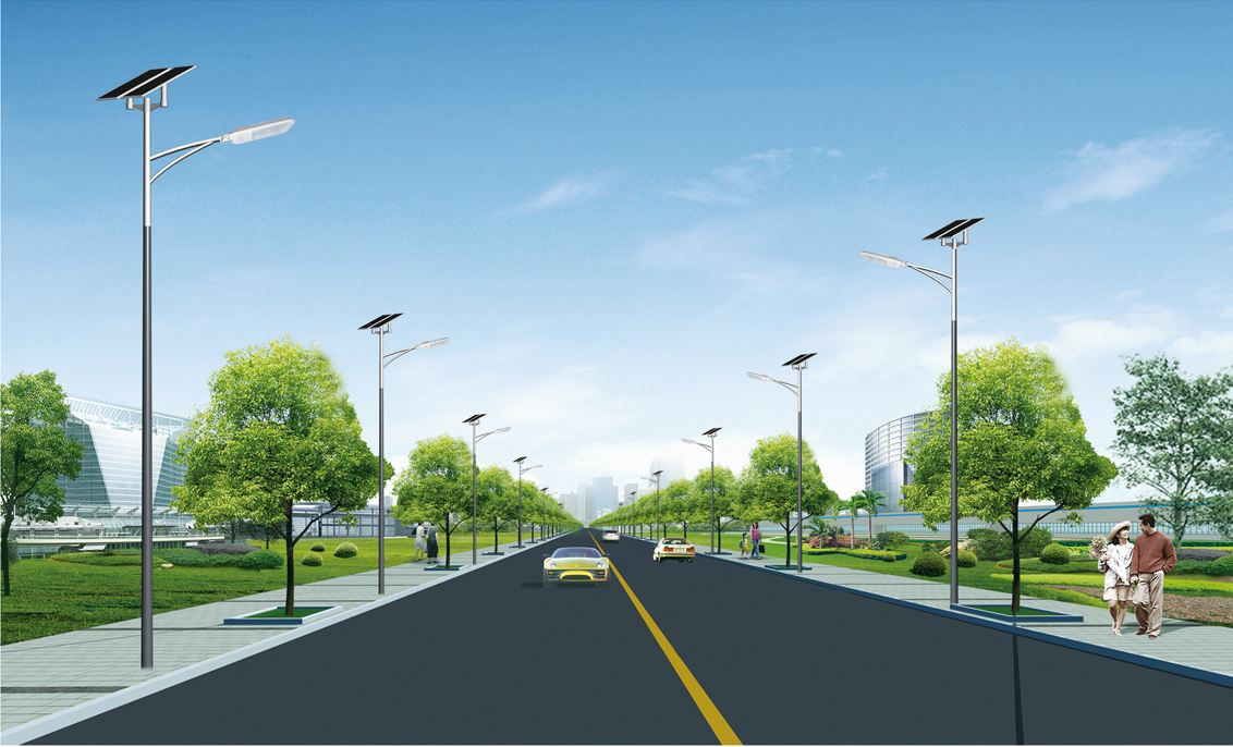 太阳能道路灯案例