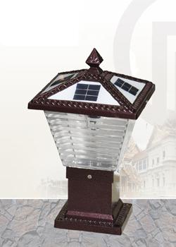 太陽能牆頭燈