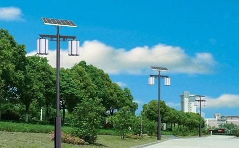 太阳能庭院灯的应用