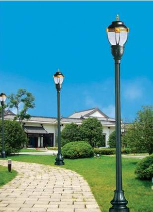 太阳能庭院灯如何做好防盗设计?