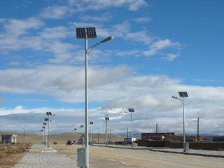 太阳能路灯的工作原理