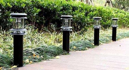 云南太阳能草坪灯安装
