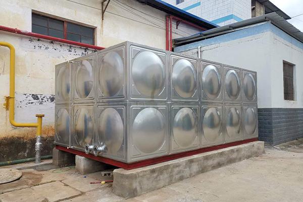100吨不锈钢消防水箱价格是多少
