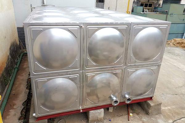 怎样对不锈钢水箱进行测压