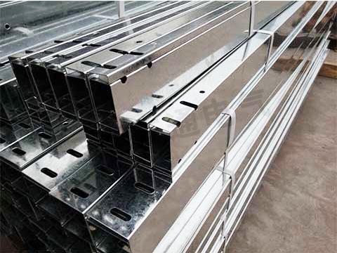 铝合金托盘式电缆桥架